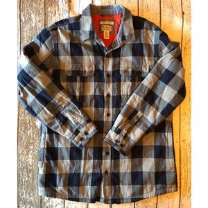 L.L. Bean Insulated Shirt Jacket Large TALL